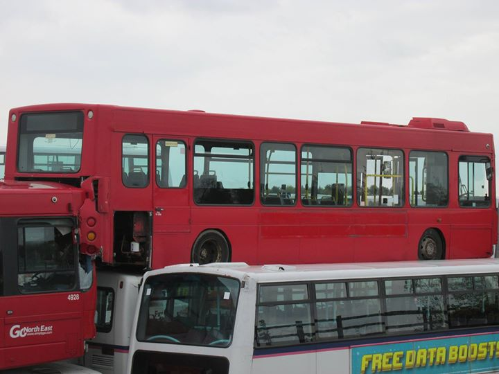 go north east 8269 NK54NKW sits ontop of a plaxton president.jpg