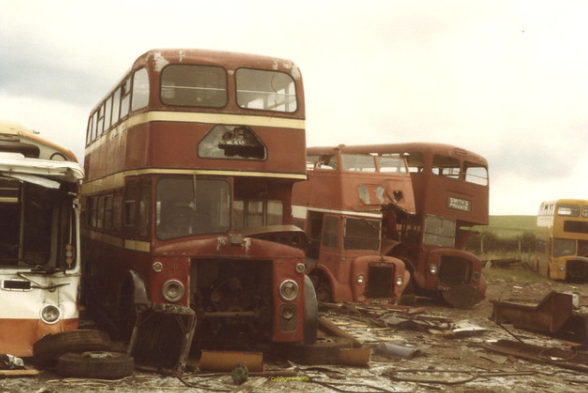 Western SMT D1540 at CF Booth, Aston 1981.png